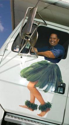 A hula trucker