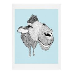 Casey Rogers Sheep Art Print | DENY Designs Home Accessories
