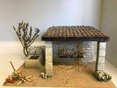 "L'ATELIER DE NÔEL: Mes creations de"" creche de Noel "" 2018 "" Creations, Artisan, Sculpture, Interior, Christmas, Diorama, Portal, Home Decor, Life"