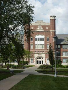 Administration Bldg, Northwest Missouri State University, Maryville, MO