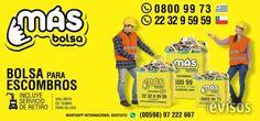 Bolsa para escombros con retiro gratis  Retiro de escombros con bolsas de 1 m3 y 1,65 m3 ..  http://ciudad-vieja.evisos.com.uy/bolsa-para-escombros-con-retiro-gratis-id-317132