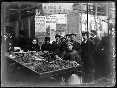 Jewish immigrants on Petticoat lane in London by George Eastman House, via Flickr