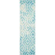 Safavieh Dip Dye Kelleigh Hand-Tufted Wool Area Rug, Beige