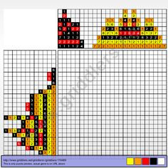 Griddlers Puzzle 178489 Fire Pokemon