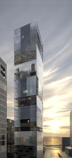 Tower 486 Mina El Hosn in Beirut Lebanon by LAN Architecture:
