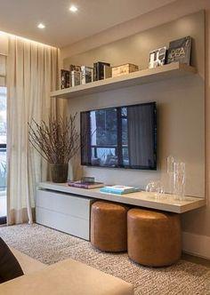 Painel prático apartamento pequeno