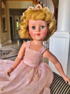 """Vintage 1950s American Character Orig. Early RARE 18"""" Sweet Sue Doll Princess   eBay"""