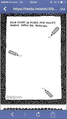 Työpaja Brain Breaks, Social Skills, Classroom, Drawing, Crafts, Class Room, Manualidades, Brain Training, Sketches