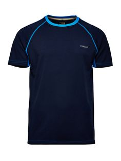 Active Tee, Dress Blues, large