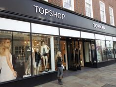 Top Shop, Top Man. Clothes for men and women in East Street, #Chichester