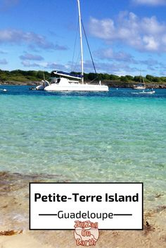 Petite Terre island, Guadeloupe - a protected reserve where you can snorkel with lemon sharks and turtles - Click to open the guide with many photos and detailed information to plan your visit