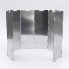 8 Плиты Складная Плита Принадлежности для шашлыков Газовая Плита Ветер щит Экран Пикник Открытый Складной Пикник Кемпинг Плита Ветер Экран купить на AliExpress