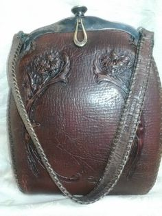 Antique Flawless 1918 Jemco Leather Purse | eBay