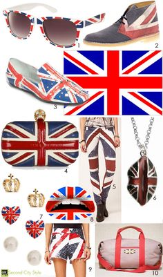 Queens Jubilee British Flag Fashion
