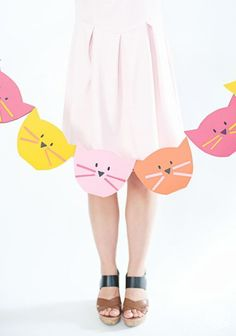 Festeja con una tierna decoracion de Gatos | Mi Caleidoscopio DIY
