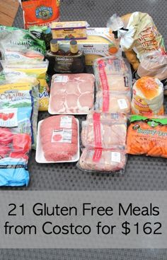 21 gluten free meals from Costco for $162! #glutenfree #meals #costco