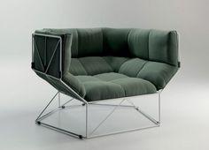 Sillón FOXHOLE 120 de Sphaus, diseño de Nathan Yong - Tendenza Store