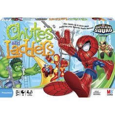 Gifts for Boys Ages 3 - 6 ~ Chutes and Ladders is a classic for good reason, it's simple and fun for little kids!  Add in the new superhero element and it's sure to be a hit.  I know my little Joey is a huge Spiderman fan, so I've got my eye on this for Christmas.