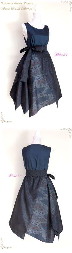 大島紬などの着物をリメイクして服を作っている個人サイトです。 すべて1点ものの手作り。アナタだけの1着が見つかりますように。