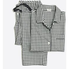 c14868ddb2 J.Crew Yarn-dyed flannel pajama set ( 35) ❤ liked on Polyvore featuring  intimates