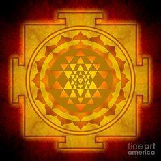 Sri Yantra golden color  e06e2899cf4c85379674fd8924310309.jpg (900×900)
