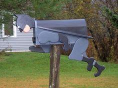 Batman mailbox   FREE SHIPPING by CrossKnots on Etsy, $135.00