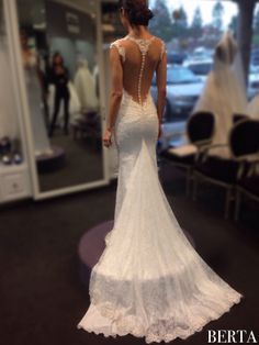 Berta trunk show at Mon Amie Bridal Salon in CA - day #3. We adore our California Berta Brides :-)