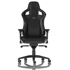 Noble EPIC Series Real Leather Gaming Chair - Black/Black **Pre-order**
