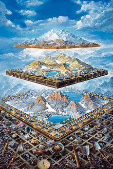 JOHN STEPHENS The multi-layerd landscapes
