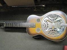 Early 1932 Dobro Model Resonator Guitar Vintage