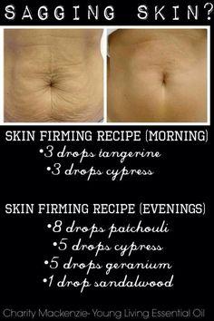 Oils for sagging skin