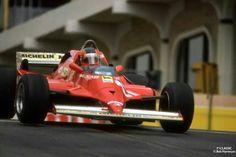 Gilles !  Ferrari 126 K Long Beach '81