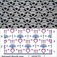 Fabulous Crochet a Little Black Crochet Dress Ideas. Georgeous Crochet a Little Black Crochet Dress Ideas. Crochet Stitches Chart, Granny Square Crochet Pattern, Crochet Borders, Crochet Diagram, Crochet Basics, Crochet Motif, Crochet Patterns, Crochet Edgings, Crochet Wool