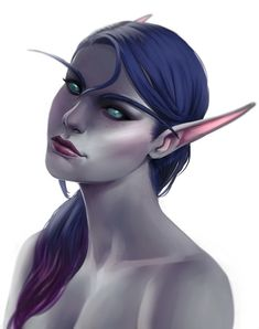 Commission : Another Ren'dorei Elf by K-enji