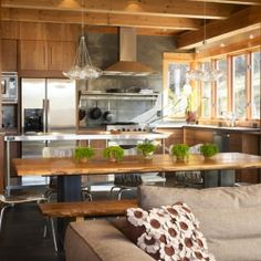 Stunning eco-friendly home features gorgeous interiors in the Colorado mountains.