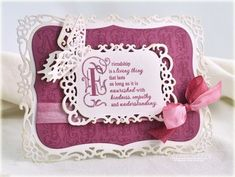 Beautiful colors and sentiment.  Card created by Debbie Olson, Stamp set design by Becca Feeken from JustRite Papercrafts