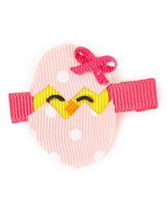 Love this Pink Lil Chick Boutique Hair Clip on #zulily! #zulilyfinds