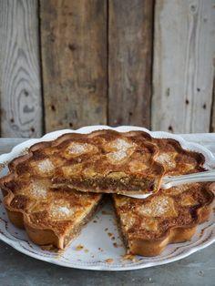 Fyrstekake - med en vri! #fyrstekake #klassiker #norskekaker #festkake #kake #cake #baking #oppskrift #recipe #godkake #frangipane