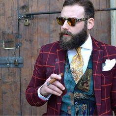 Gents and cigars. #TailoredAsh #GentsAndCigars #GotAsh
