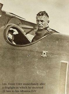 ✠ Ernst Udet (26 April 1896 – 17 November 1941) Committed suicide. FA 68, FA(A) 206, KEK Habsheim, Jastas 4, 11, 15, 37 (62 victories) Pour le Merite (9 April 1918) House Order of Hohenzollern (13th November 1917) RK 04.07.1940 General der Flieger,Generalluftzeugmeister Oberkommando der Luftwaffe