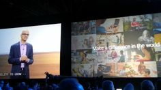 """Microsoft CEO Challenges Business Leaders: """"Make a Difference in the World"""""""