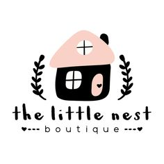 Sweet Little House Premade Logo Design – Customized with Your Business Name! —… Sweet Little House Premade Logo Design – Customized with Your Business Name! Business Names, Business Logo, Business Design, Web Design, Layout Design, House Design, Daycare Logo, Sweet Logo, Name Design