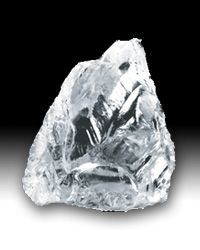 Diamant Minerals And Gemstones, Crystals Minerals, Rare Gems, Rough Diamond, Crystal Cluster, Chakras, Fossils, Crystal Healing, Sea Glass