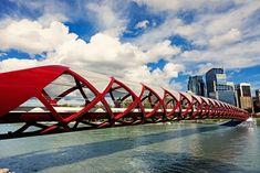 Peace Bridge, Calgary, Alberta
