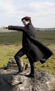 "Love this one from ""The Hound of Baskerville""<< ""Onwards Jawn! We must solve this case!"""