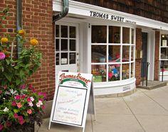 """Thomas Sweet Chocolate, Palmer Square Princeton, NJ. Best """"Chocolate EVER"""""""
