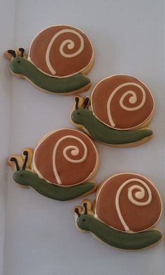 snail cookie - Google Search