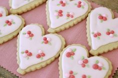 valentine+cookies+decorating   ... : Valentine's Day Sugar Cookies   Heart Cookies for Emma's Baptism