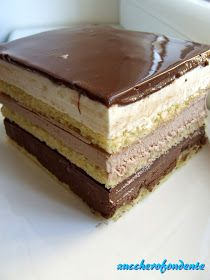 Opera Cake, Dessert Recipes, Desserts, Chocolate Cake, Tiramisu, Cake Decorating, Ethnic Recipes, Sweet, Food