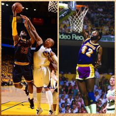 LeBron James joins James Worthy as only 2 players in history with at least 35 Pts, 15 Reb, 10 Ast in #NBAFinals game.